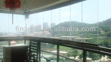 New balcony glazing system export to Singapore