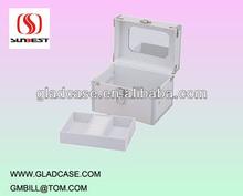 SB2006 high quality aluminum travel jewerly case