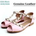Mais recente moda meninas sandálias sapatos, sandálias salto baixo sapatos para crianças