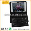 Portalbe Mini wireless keyboard for iPad Mini,wireless Mini Keyboard case for iPad