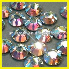 Wholesale Decorative Flat Back & Round & Hotfix Crystal AB DMC Rhinestones