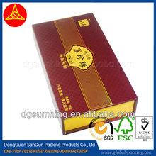 Custom rigid super large cardboard colored gift box wholesale