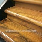 Laminate wood stair tread