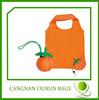 superior quality nylon folding fruit shape shopping bags