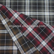 cotton yarn dyed woven shirt fabric 40x40