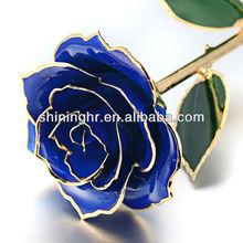 Golden Rose, gold-plated gift, Valentine's Day gift flower love