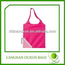 wholesale competitive price nylon folding shopper tote bag