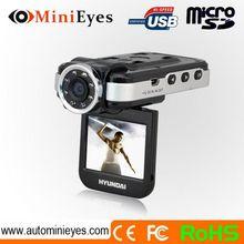 2.0 inch NTK96632 1080P with night vision G-sensor SOS function good video at night loop recording mini car dvr
