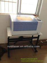 mini desktop/bristol/garments/fabric board laser cutting and engraving machine