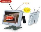 2014 NEW 7 inch portable ISDB-T (Full seg) Digital TV