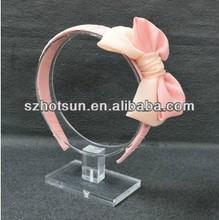 Circle-shaped hoop display acrylic made in china