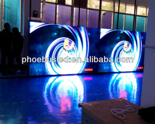 Outdoor rental type 6mm small pixel pitch 6 full color LED video screen DIP
