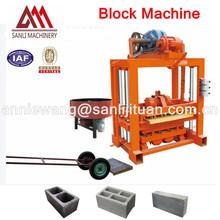 2012 New design!!!Low Cost Cheap Manual Brick Making Machine QT4-40