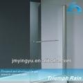 aooc1504cl 6mm de douche en aluminium portes écran