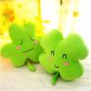 Creative leaf plush soft cushion toys