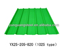 Export Color coated corrugated roofing sheet
