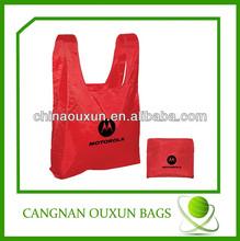 hottest nylon reusable folding tote bags