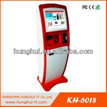Touch Screen Kiosk Development, Payment Kiosk Development with Card Dispenser