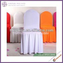 cheap white skirt spandex chair cover Pretty white swag Spandex Chair Cover /Lycra Chair Cover for wedding,banquet,party