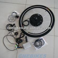 36v 500w hub motor waterproof electric bicycle kit/front or rear wheel ebike conversion kit