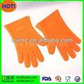 Gummi-handschuhe kochen, silizium kochen handschuh blume, silikon kochen handschuhe
