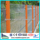 Powder Coated/galvanized curved iron wire mesh fencing(Anping Factory)