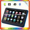 Touch screen 7 inch car gps navigation with fm bluetooth av-in