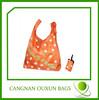 hottest eco-friendly nylon folded shopping bag wholesale