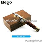 2014 New Design E Cigarette Vision E Fire V2 Smoking Glass Pyrex Pipe