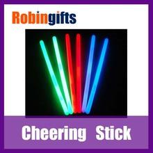 light/noise maker foam led cheer stick,party cheering stick,light up cheering stick with pom poms