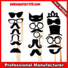 adult photo props paper mask on stick paper lip with stick