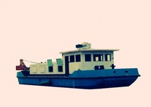 jinan shandong competitive price sea industrial gold dredge boat