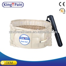 Inflatable working belt health ergonomic back support