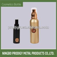 Aluminum refillable custom medical spray bottle