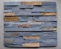 compare os favoritos da parede exterior da telha da ardósia folheado de pedra