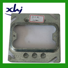 square steel metal junction box cover,junction box cover,waterproof junction box cover