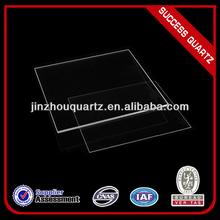 Polished thick square quartz