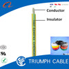 UL1007 300V 80C tinned copper conductor pvc coating wire