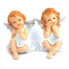 sitting angel figurines , thinking angel models, LY12013-B