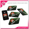 Promotional Sticky microfiber cell phone screen cleaner