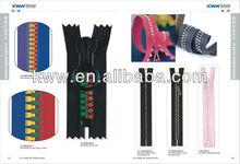 Backpack big plastic/nylon zipper