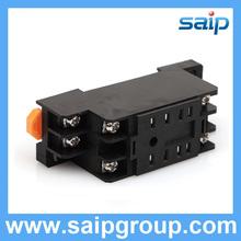 PC Electric Saip Relay Socket Black Electrical Sockets PYF08A 18F-2Z-C1