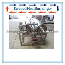 high performance heat exchanger scraped surface