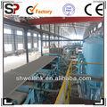 Sinopower grupo removível net- cagehatschek& fluxo- no processo de fibra de cimento bordo produção leão