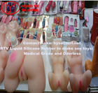 Skin and body safe silicone rubber for sex toys making