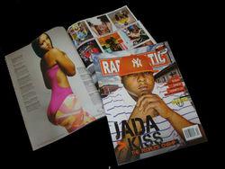 Professional quality print magazine