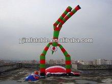 2014 best selling inflatable tube man,man air dancer blower