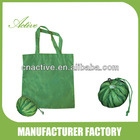 Foldable Shopping Bag 190T polyester with watermelon pouch