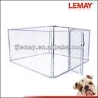 7.5' x 7.5' x 4' metal puppy enclosure dog pen