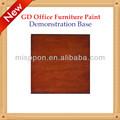 misppon 2014 venda quente moderno mobiliário de escritório série mogno cor da pintura